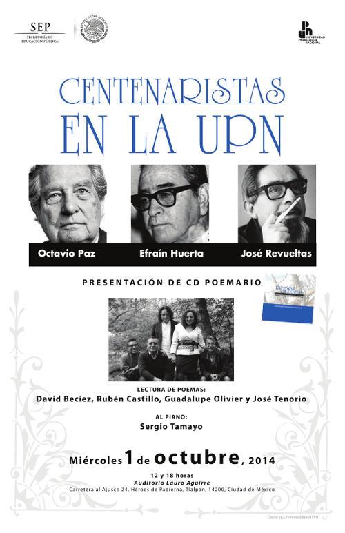 Centenaristas en la UPN