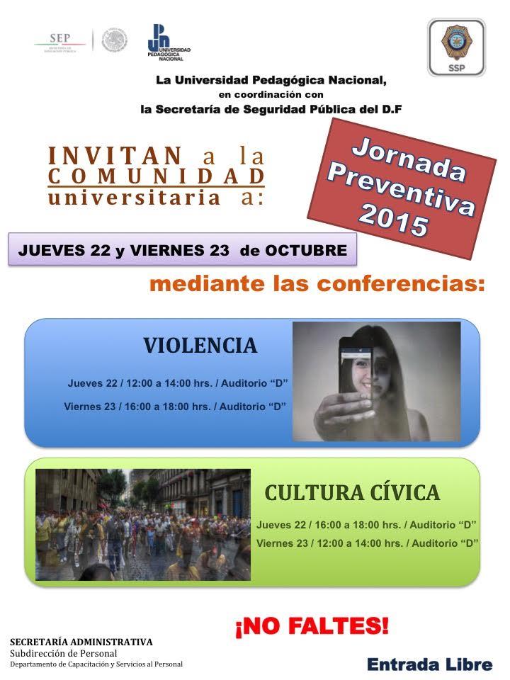 Primeras Jornadas de prevención
